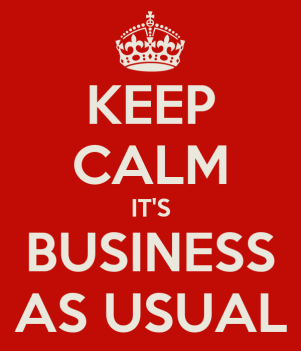 Business As Usual' following the Manchester terrorist attack.