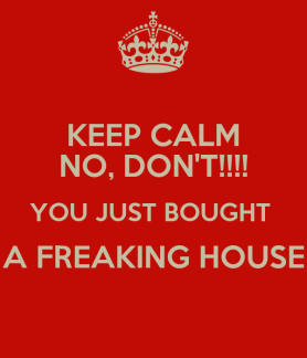 Image result for i bought a house
