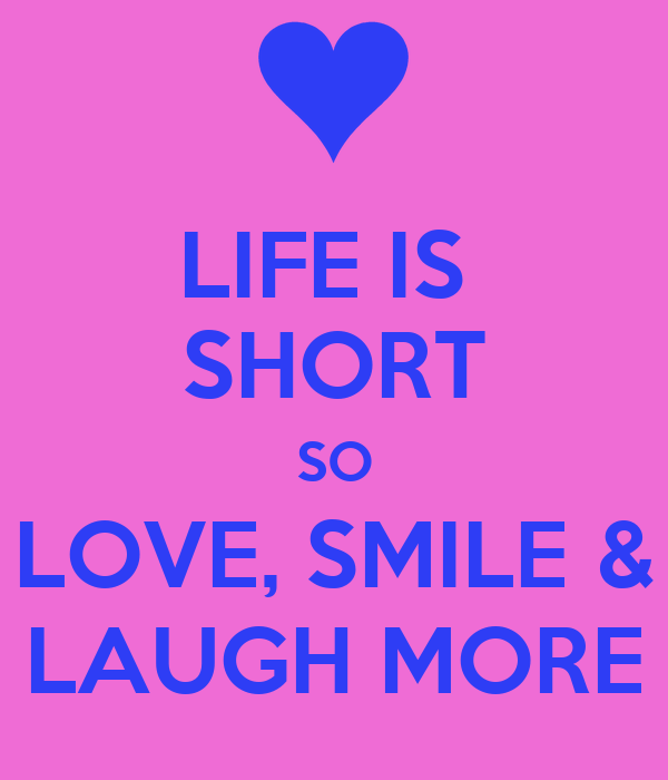 Smile Laugh Enjoy Life