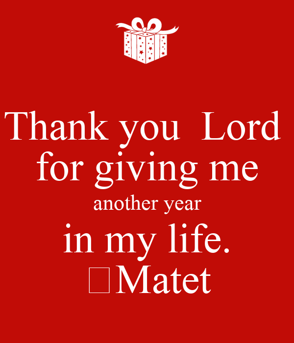Thank You I Me Lord