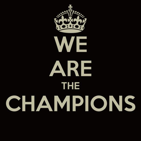 WE ARE THE CHAMPIONS Poster | r | Keep Calm-o-Matic