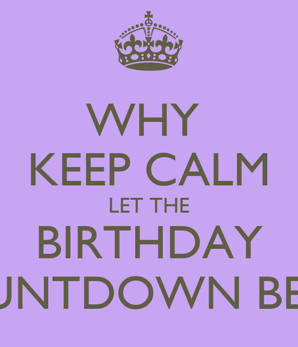 Countdown My Birthday Quotes