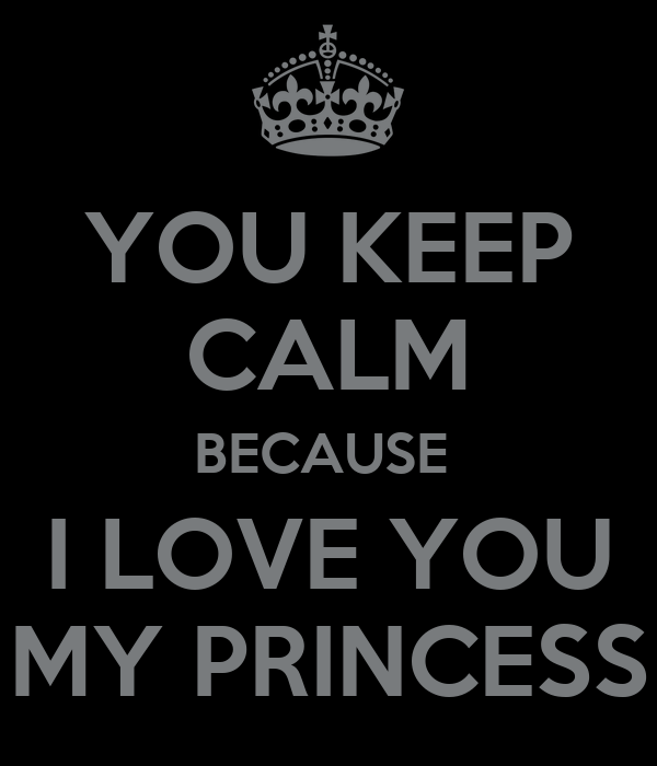 I Love You My Princess Spanish