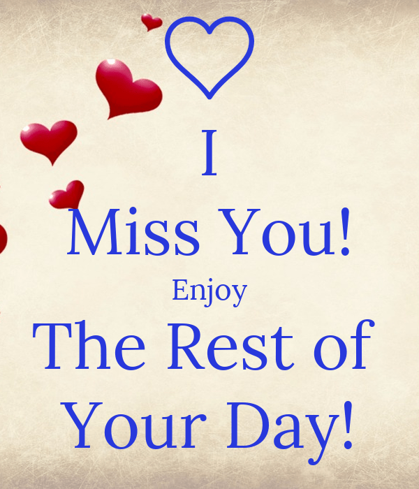 enjoy the rest of your day poster