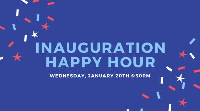 Inauguration Virtual Happy Hour