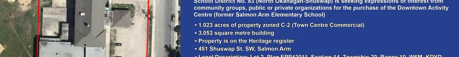Former school for sale