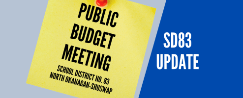 Virtual meeting for public input on budget