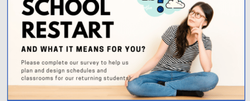 Parents did you miss out on our survey?