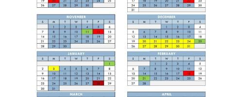 Provide your input on SD83 calendar