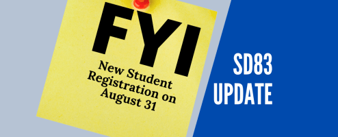 Are you new to SD83?