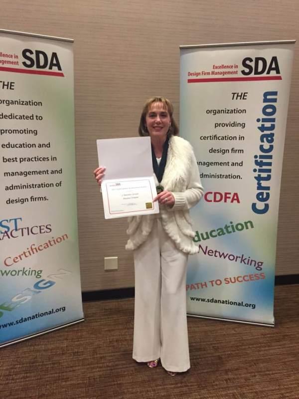 2017 Lifetime Achievement Award Melodee Schultz (Houston Chapter)