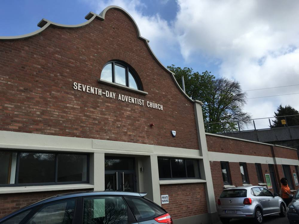 A view of the Adventist church where the Cuisle Centre is situated in Dublin, Ireland. (Gina Wahlen)