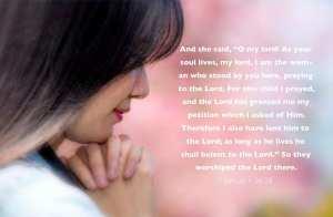 1 Samuel 1:26-28