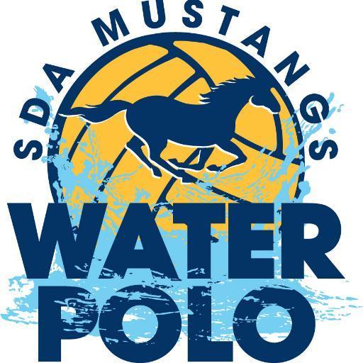 SDA Mustangs Water Polo Logo