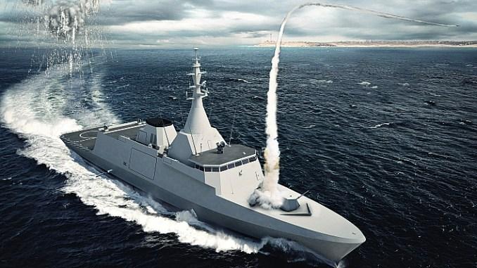 منافسة إيطالية - فرنسية لتزويد الجيش المصري بسلاح جديد GOWIND-2500-1