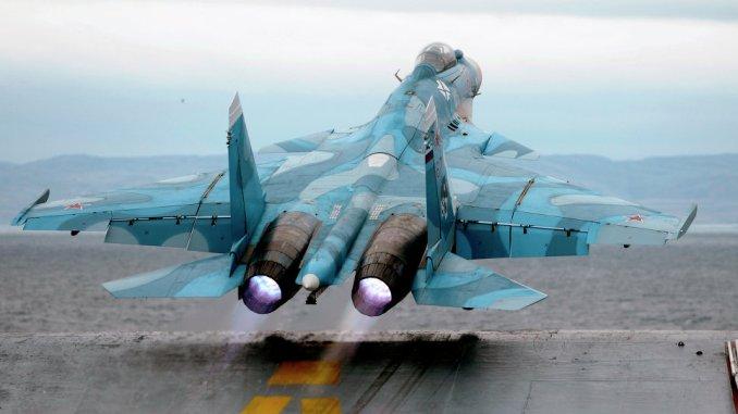 مقاتلة روسية