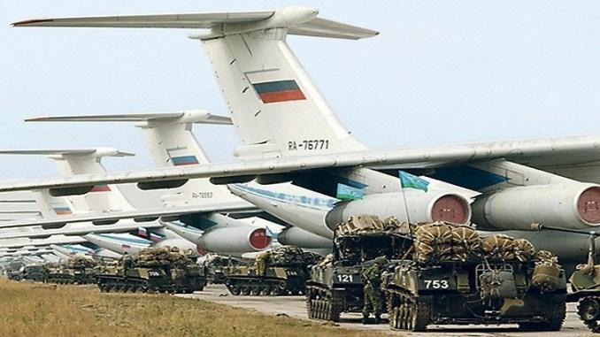 مناورات روسية