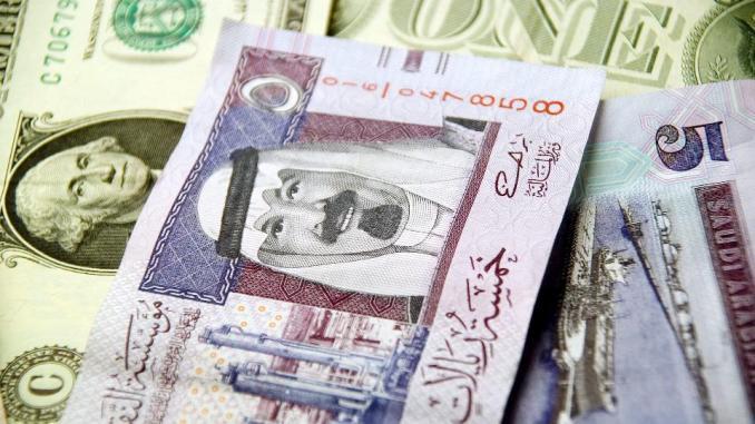 الريال السعودي والدولار الأميركي