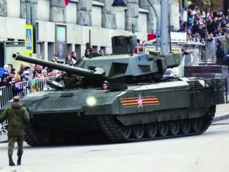 دبابة تي-14 الروسية
