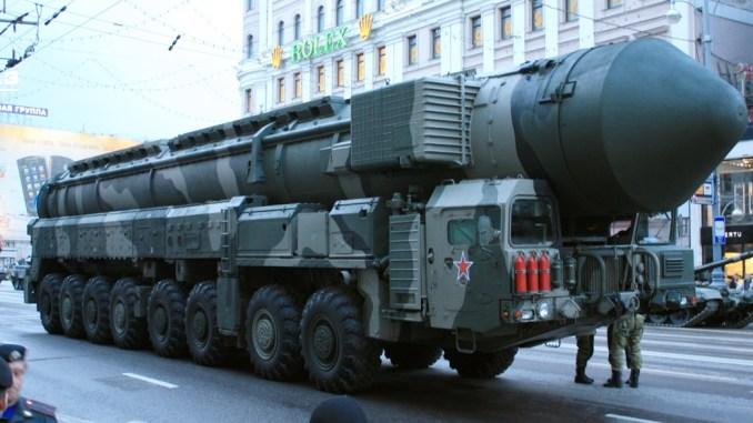 صاروخ روسي عابر للقارات