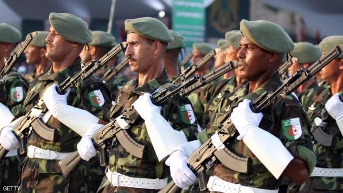 قوة من الجيش الجزائري