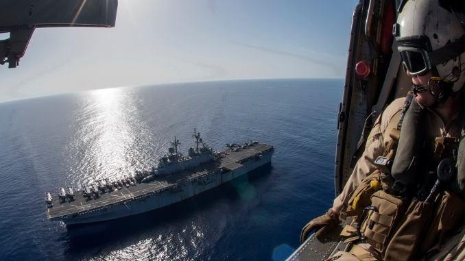 سفينة حربية أميركية