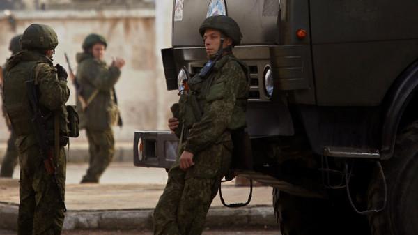جنود روس في حلب