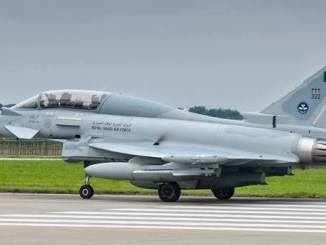 مقاتلة Eurofighter Typhoon السعودية