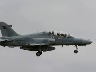 طائرة Hawk MK 165 AJT سعودية