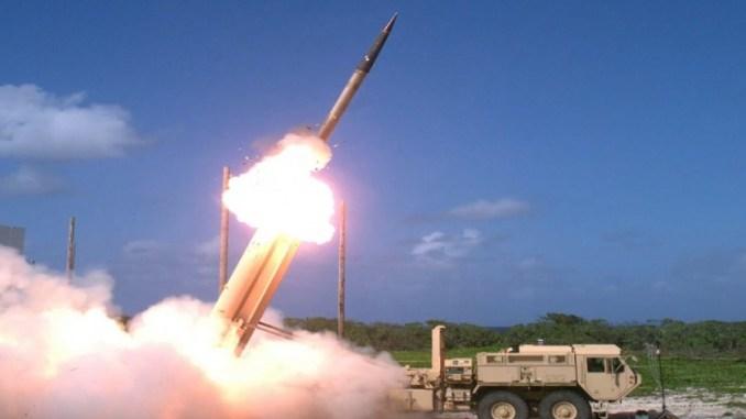 الدرع الصاروخي الأميركي ثاد