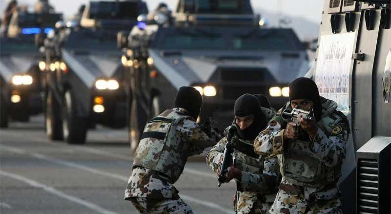 قوات الطوارئ السعودية