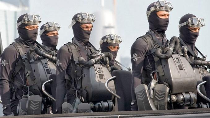 القوات الخاصة البحرية القطرية