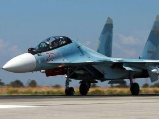 مقاتلة سو-30 أس أم في سوريا