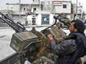 فصائل مقاتلة في النزاع السوري