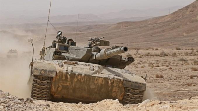 دبابة تركية في عملية درع الفرات