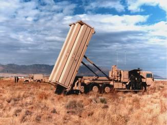 """الدرع الأميركي المضاد للصواريخ """"ثاد"""""""
