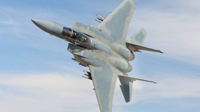 مقاتلة من طراز F-15SA