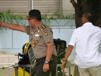 الشرطة الإندونسية