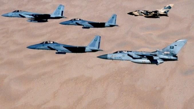 مقاتلات أف-15 وتورنيدو سعودية