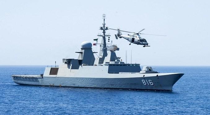 فرقاطة تابعة للبحرية السعودية