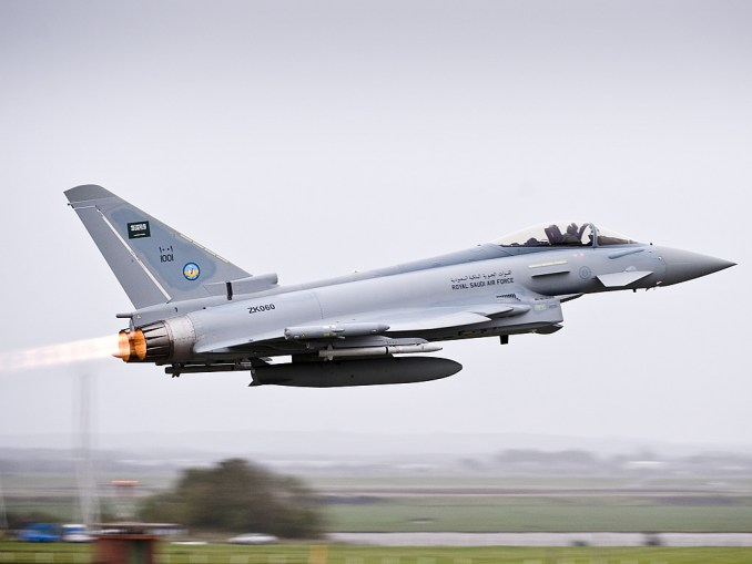 مقاتلة تايفوت سعودية