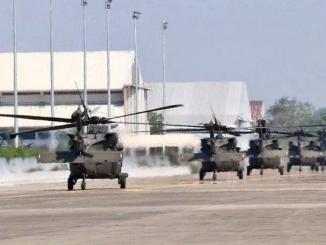 لقطة من مناورات المناورات العسكرية الأميركية التايلاندية