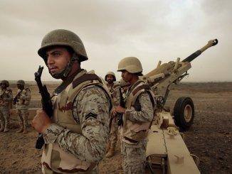قوات سعودية في اليمن
