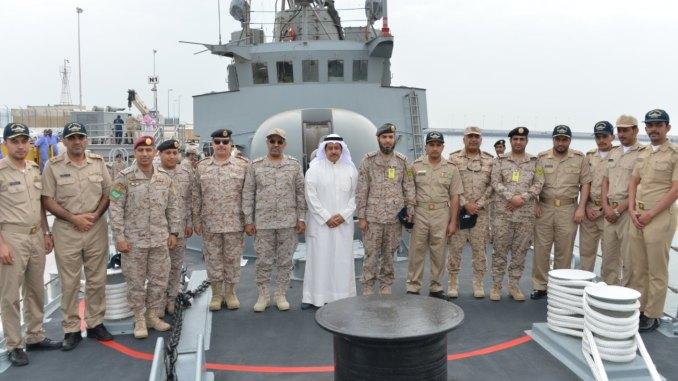 وصول سفينة جلالة الملك عقبة إلى الكويت