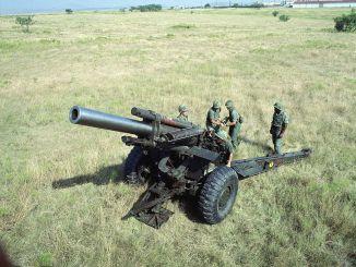 مدفع هاوتزر عيار 155 ملم