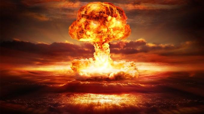 إنفجار قنبلة نووية