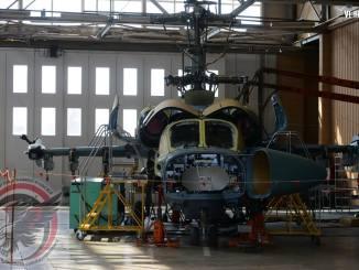أول لقطة لمروحية كا-52 التمساح المصرية مزوّدة بمنظومة الرصد الجديدة