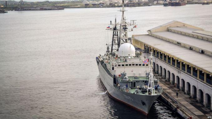 """سفينة الاستطلاع الروسية """"فيكتور ليونوف"""""""