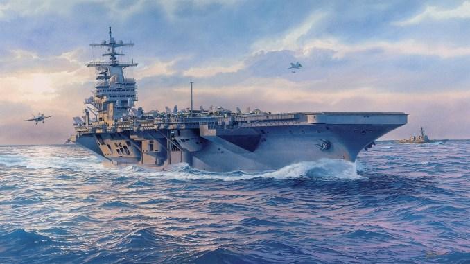 حاملة الطائرات الأميركية USS Enterprise