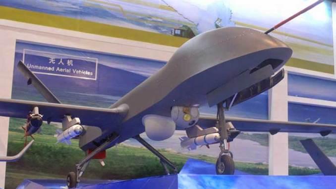 طائرة CH-4 الصينية من دون طيار